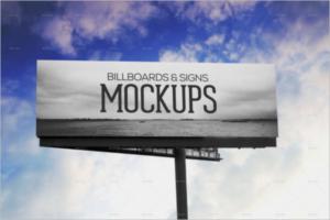 BillboardOutdoor Mockup Design