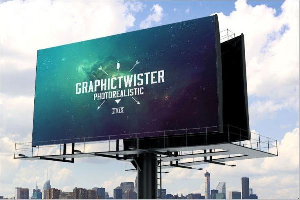 Billboard mockupFree PSD