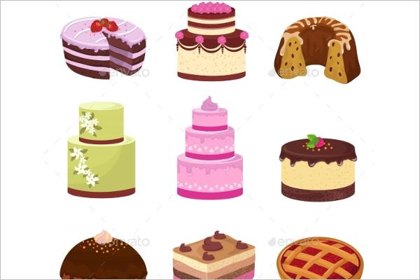 Birthday Party Cakes Decoration Design