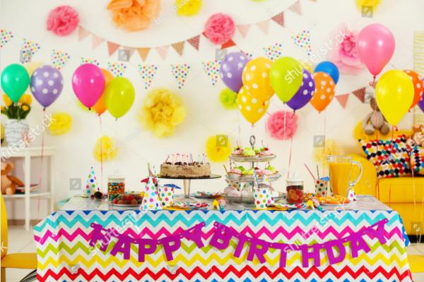 Birthday Party Decoration Idea