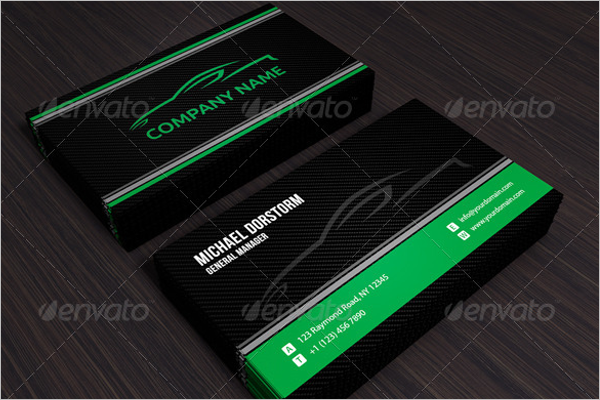 Blank automotive business card template blank automotive business card template fbccfo Choice Image