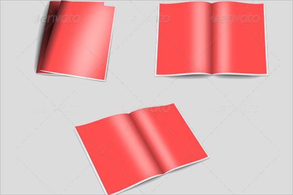 Blank Brochure Newsletter Design