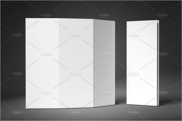 Blank Leaflet Mockup Design