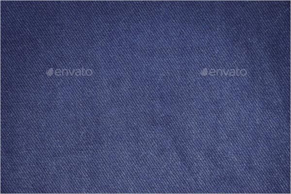 Blue Jeans Cloth Texture