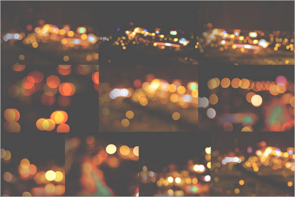 Bokeh Textures Background Abstruct