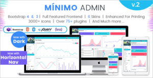 Bootstrap Admin HTML5 Template