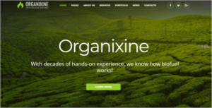 Bootstrap Agriculture HTML Template