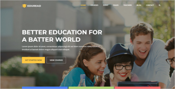 Bootstrap Education HTML5 Template