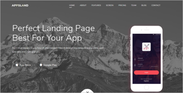 Bootstrap HTML5 Template