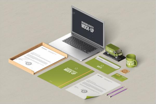 Branding Laptop MockUp