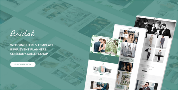 Bride HTML5 Template