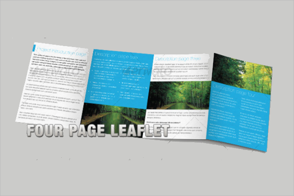 Brochure & Leaflet Mockup Template