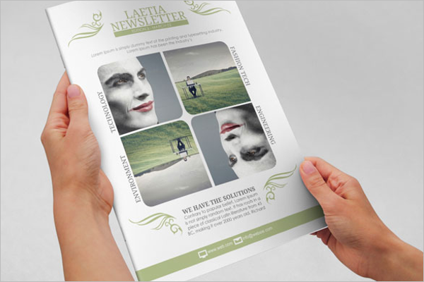 Brochure Newsletter Free Template.png