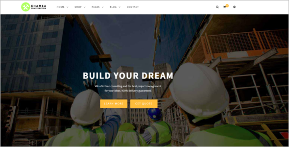 Building & Industrial HTML5 Template