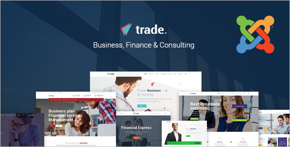 Business Cheap Joomla Template