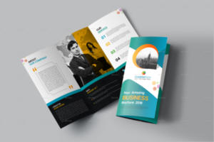 Business CorelDraw Brochure Template 2018