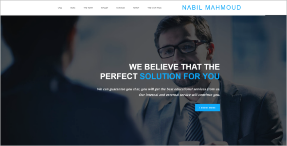 Business & Corporate HTML5 Template
