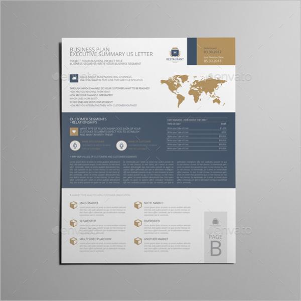 Business Executive Summary Design