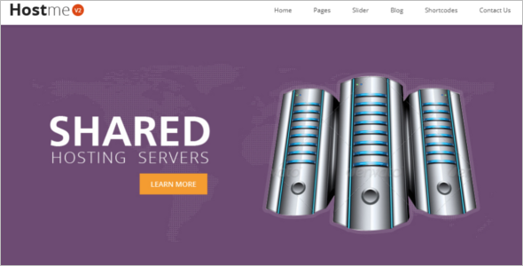 Business Hosting HTML5 Template