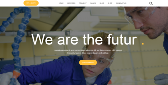 Business Industry HTML Template