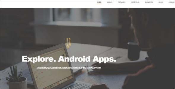 Business Luxury Joomla Template
