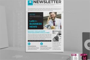 Business News Brochure Design