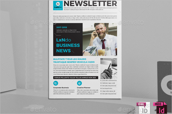 Business News Brochure Design