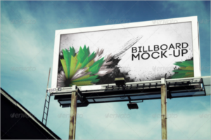 Business Outdoor Ad Mockup
