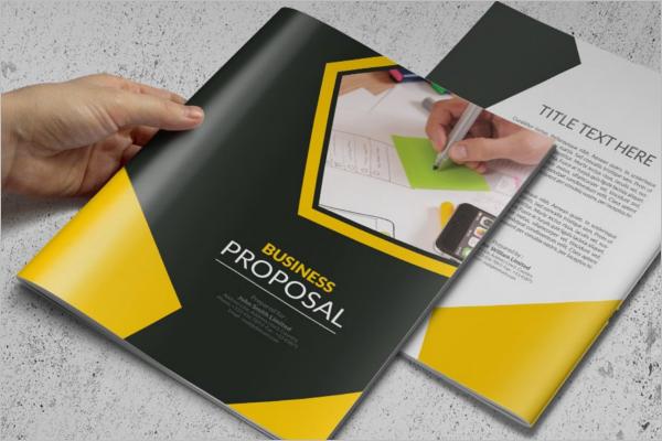 Business Proposal Brochure Design