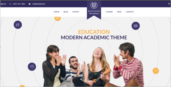 Business School HTML5 Template