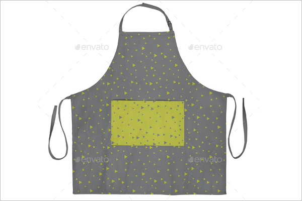 Canvas Apron Mockup Design