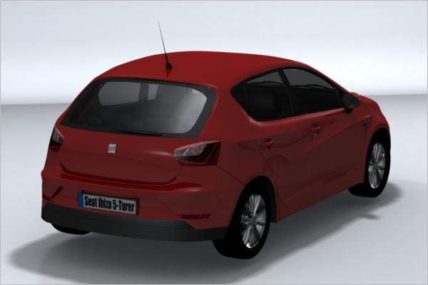 Car 3D Print Model