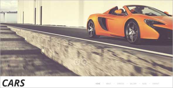 Car Joomla Theme