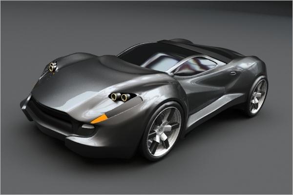 Car Max 3D Design
