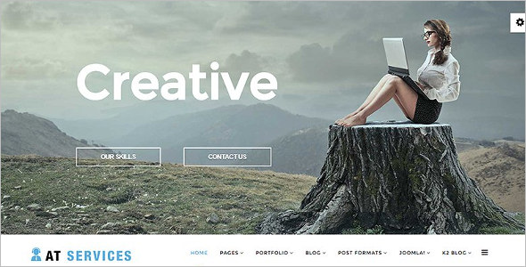 Cheap Business Joomla Template