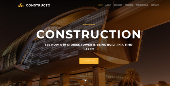 Chemical Industry Website Template
