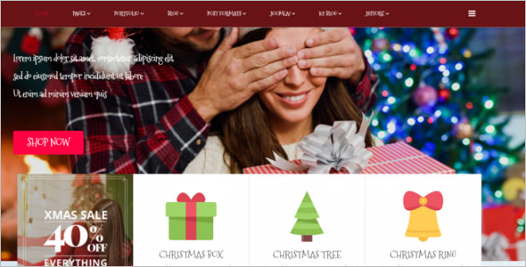 Christmas Joomla Template
