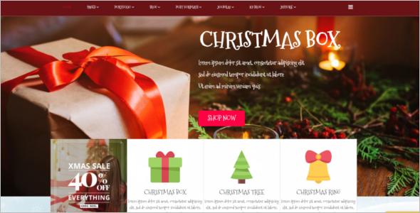 ChristmasJoomla Template