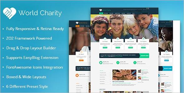 Church Fundraising Joomla Template