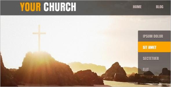 Church Website For Joomla