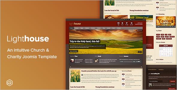 Church Website Joomla Template