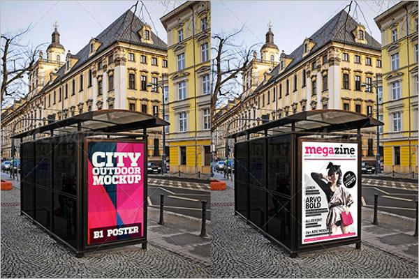 City OutdoorMockup Template