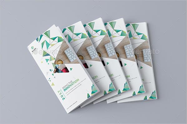 CleanCorelDraw Brochure Template