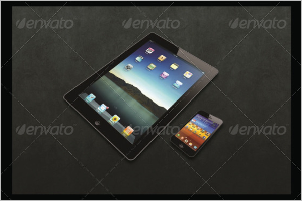 Clean Devices Mockup Design