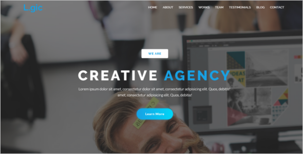 Clean Website HTML5 Template