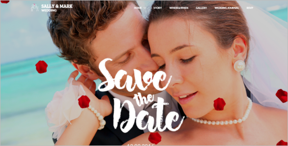 Clean Wedding HTML5 Template