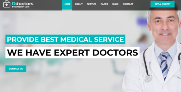 Clinical HTML5 Template