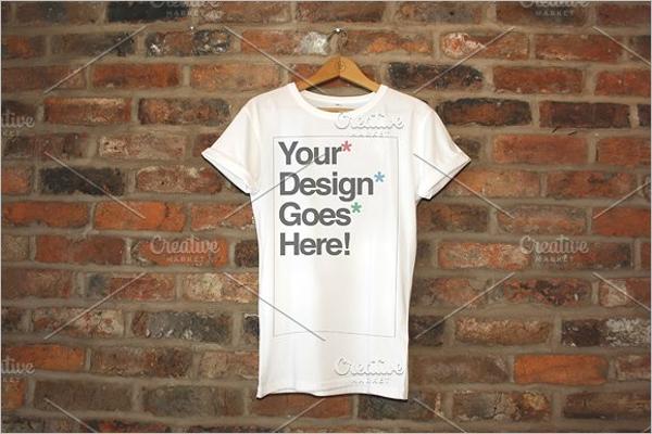 Clothing Brand T-Shirt Mockup Design