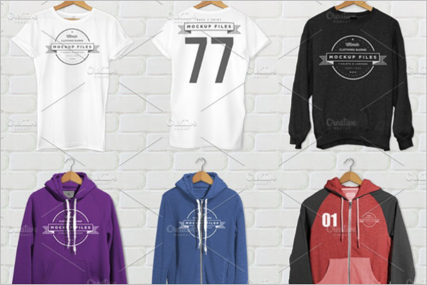 ClothingCollectionMockup Template