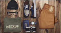 86+ Clothing Mockup PSD Designs